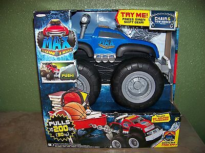 MAX TOW TRUCK Pulls up to 200 LBS 50 + Sounds & Phrases BLUE Truck New