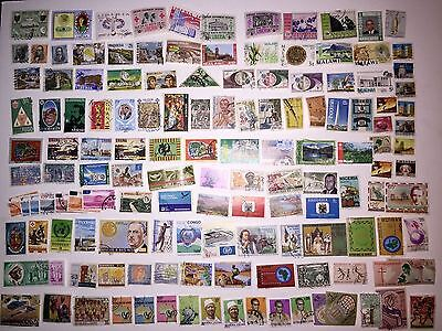 Stamp Lot All African Countries Appx 500 Unique Stamps Used Some HR