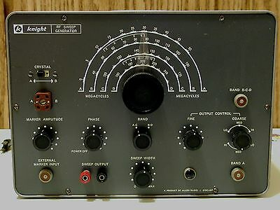 Knight RF Sweep Generator Allied Radio Tester