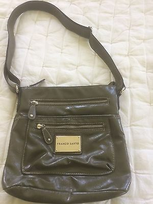 367812acad28 FRANCO SARTO CROSSBODY Messenger Bag Black Patent Leather Look 100 ...