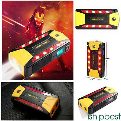 82800 69800mah Portable Car Jump Starter Pack Booster Charger Battery Power Bank