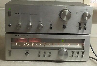 Teac Bx-300 Dc Intergrated Amp & Teac Tx-500 Stereo Tuner