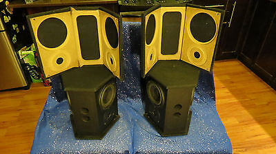 Beautiful Energy Rvss Reference Surround Speakers Black (Pair) Made In Canada