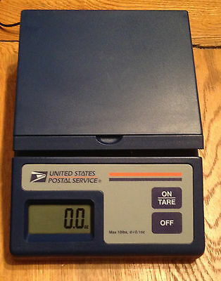 Digital Desktop Postage Scale  by USPS - Max Weight 10 lb AC adaptor included.