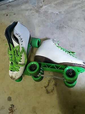 Roller Skates, US Size 9, Sunlight Plates, Sure Grip Wheels, Used but good cond!