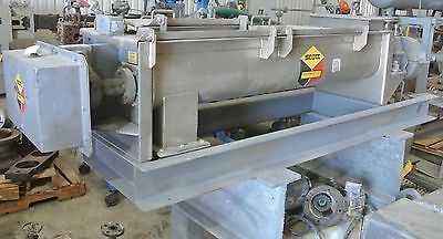 Scott Twin shaft Horizontal Paddle mixer 500 Lb Mixing Capacity