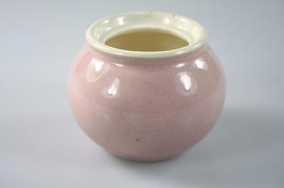 MARTIN BOYD HAND PAINTED SMALL PINK VASE Signed