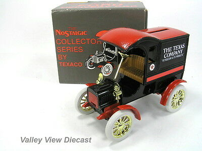 Ertl 1/25 Texaco 1905 Ford Delivery Car Bank - #4 In Series - Mint In Box