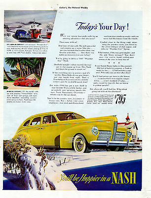 1940 Nash car ad $795---4 Door sedan -[-152