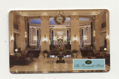 The Roosevelt Hotel New York City Hotel Key Card