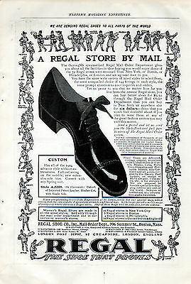 1904 Regal Shoes ad, A Regal Store by Mail,, Worldwide -p-757