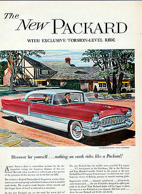 1955 Packard Four Hundred car ad -622