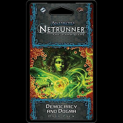 Democracy and Dogma data pack (Android Netrunner LCG)