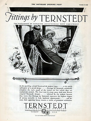 1928 Ternstedt Automobile Hardware ad ---Body Hardware Appointments --k661