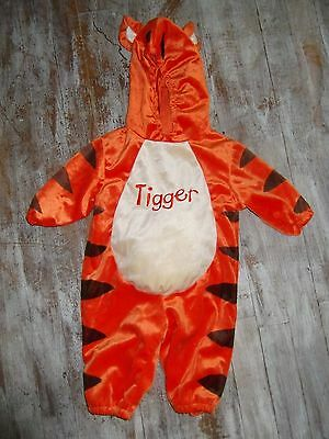 Infant Baby Tigger-Winnie the Pooh Costume Boys Size 3-6 Months EUC