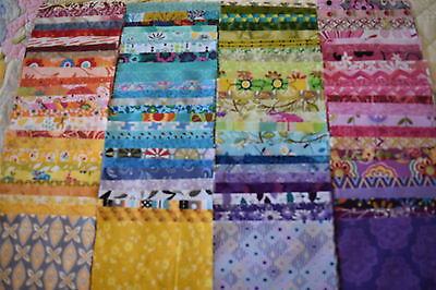 """100 x 5"""" charm squares *all different* patchwork & quilting fabric stash builder"""