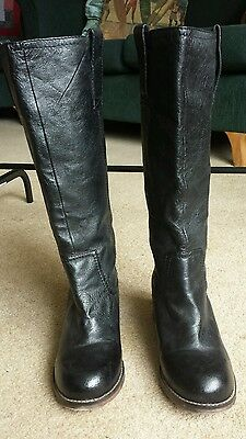 Steve Madden classic leather knee high boots 8.5