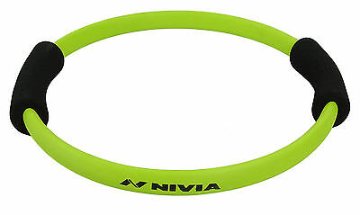 Nivia Green Fitness Circle Foam Grip Pilates Ring For Training Full Body Toning