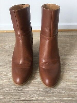 Nine West Brown Ankle Boots 7.5