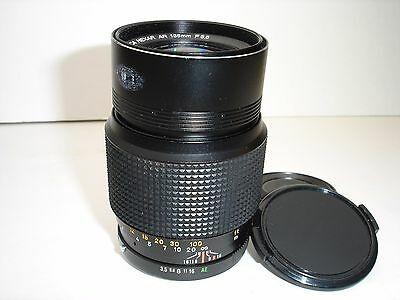KONICA HEXAR AR 135mm f 3.5 lens Works Good! SN4209316