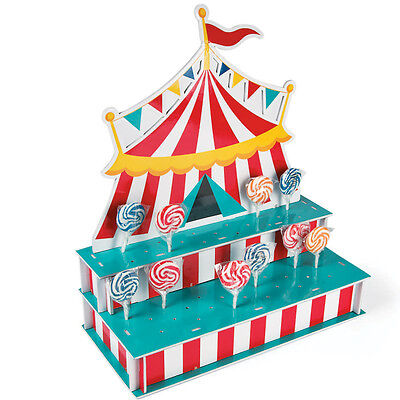 Circus Tent Shaped Lollipop Stand