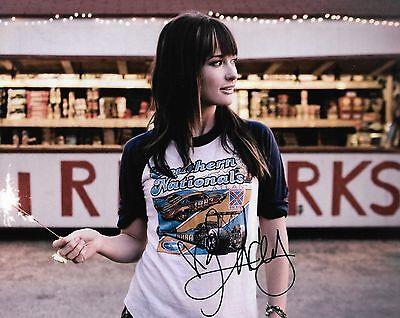 Kacey Musgraves country REAL hand SIGNED 8x10 photo #4 COA Autographed