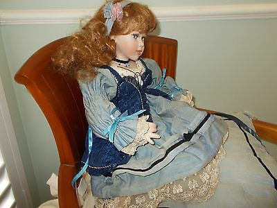 Hillview Lane Porcelain Doll - Milly – Collectable