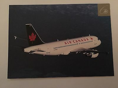 AIR CANADA Through The Years 60 Airbus A319 Airline Issued Postcard