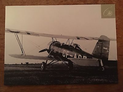 AIR CANADA Through The Years Stearman 4EM Trans Canada Airline Issued Postcard