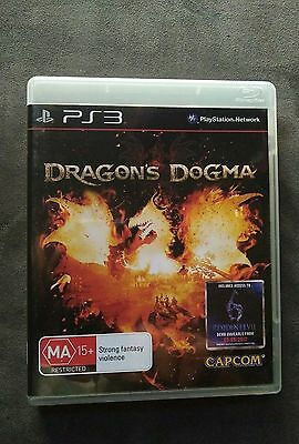 PlayStation 3 ps3 dragon's dogma game sony