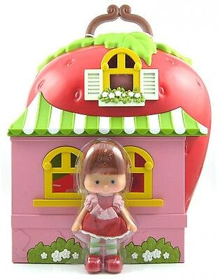 Strawberry Shortcake House Playset Retro Berry Happy Home Custard Kid's 80's