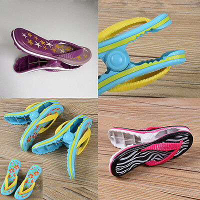 Cruise Slippers Beach Towel Sun Bed Lounger Clips Large Sunbed Pool Pegs 1/2 PCS