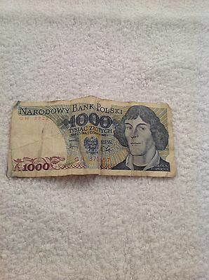 A Vintage Bank Note