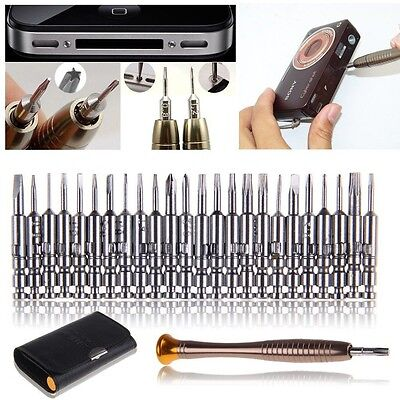 25PCS MINI PRECISION SCREWDRIVERS SET SMALL TINY Laptop Jewellers craft SF