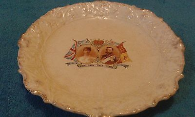 King George V And Queen Mary Coronation Plate 1911.
