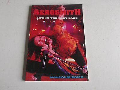 Malcolm Dome Aerosmith Life In The Fast Lane Book