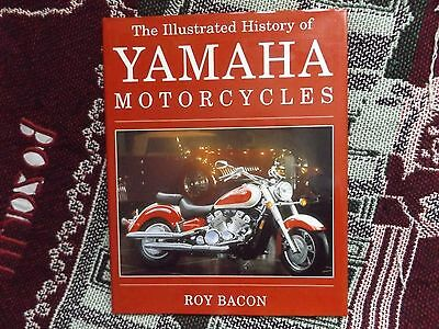 Illustrated History Of Yamaha Motorcycles - Roy Bacon - 1996 Hb Dj Book