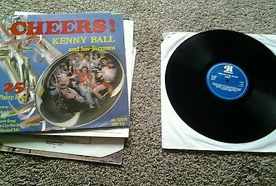 """.Kenny Ball & his Jazzmen - Cheers! - Ronco RTL 2039 12"""" nr mint"""