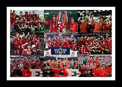 Aberdeen FC collage (1) print or canvas print