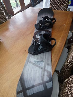 M3 snowboard with boots and bindings