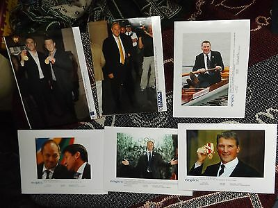 COLLECTION OF 6 x ROWING PRESS AGENCY PHOTOGRAPHS - PINSENT REDGRAVE REED etc