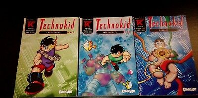 Technokid 1-3 -Comic Art