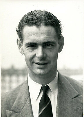 Roy Tattersall ORIGINAL CENTRAL PRESS PHOTO from 1956