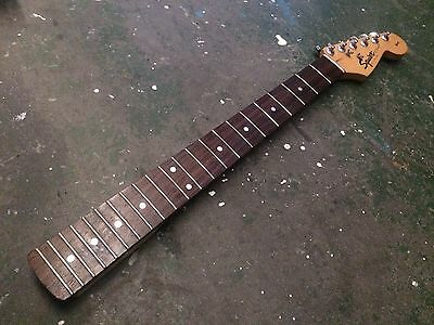 Fender Squier Stratocaster Electric Guitar Neck China 22 Fret 1997