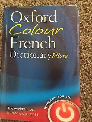 Oxford Colour French Dictionary Plus by Oxford Dictionaries (Paperback, 2011)