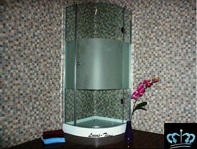 Glass shower enclosure partition cabin cubicle MARIANO JN-HO12H