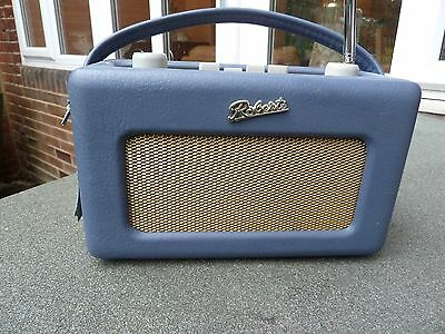 Roberts Radio R250 Revival Special Edition In Leather, Fm/am Near Mint Cond.