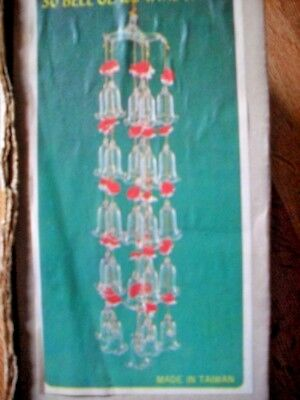 Vintage Glass Bell Wind Chime