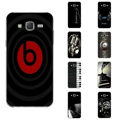Cases For Samsung Galaxy J5 2015 J5008 Soft TPU Silicone Back Cover Music