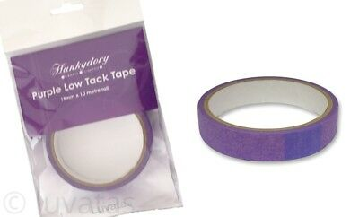 Hunkydory Crafts Purple Low Tack Tape Roll 19 mm x 10 metre